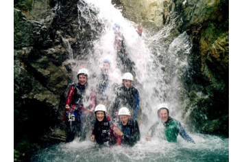 Canyoning dans le torrent du Fournel